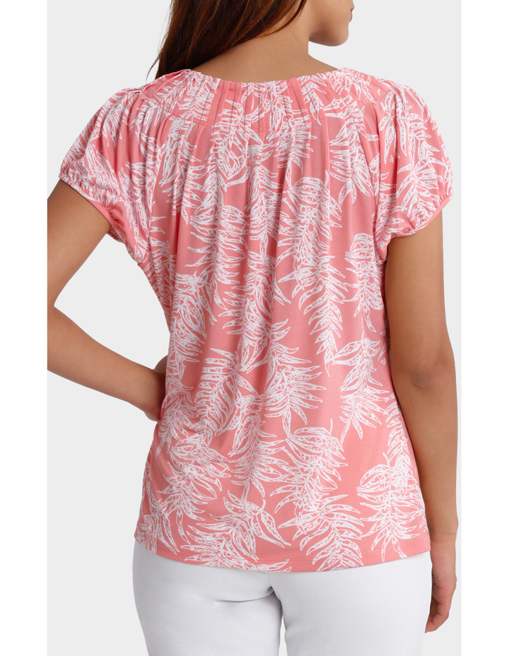 Must Have Pleated Short Sleeve Tee image 3