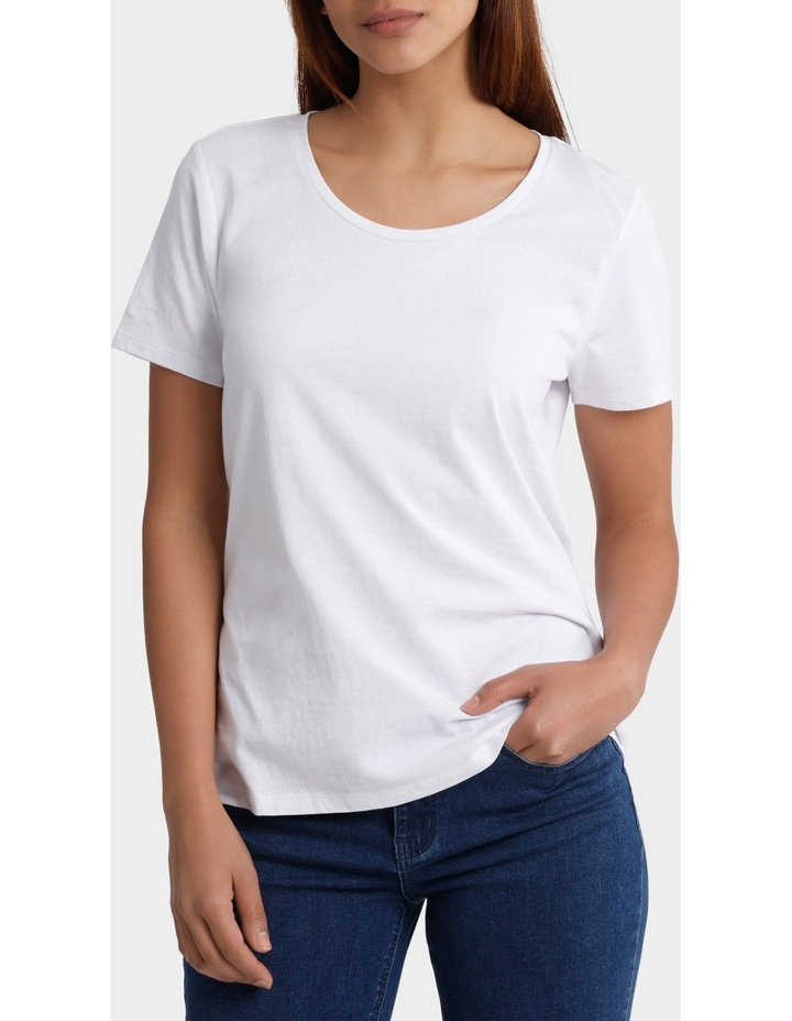 Essential Cotton Short Sleeve Tee image 1