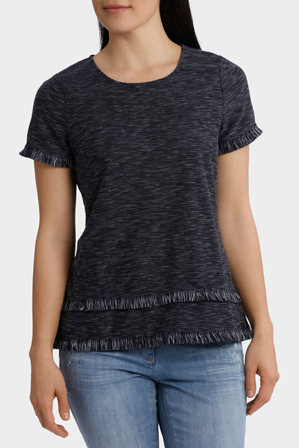 Regatta - Fringe Trim Short Sleeve Tee