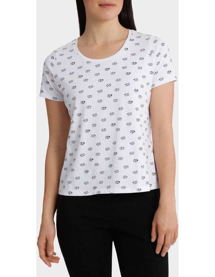 Essential Cotton Printed Short Sleeve Tee image 1