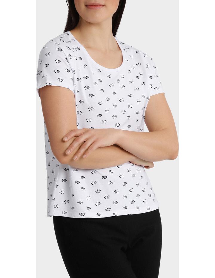 Essential Cotton Printed Short Sleeve Tee image 2
