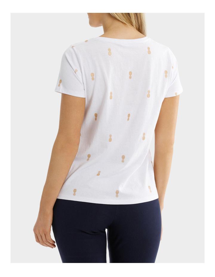 Essential Cotton Foil Short Sleeve Tee image 3