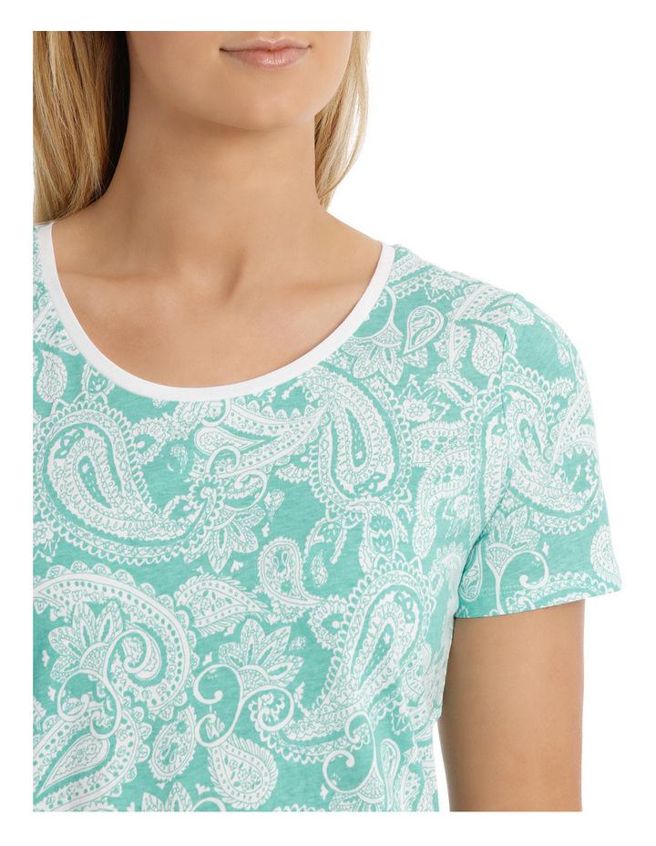 Essential Cotton Printed Short Sleeve Tee image 4