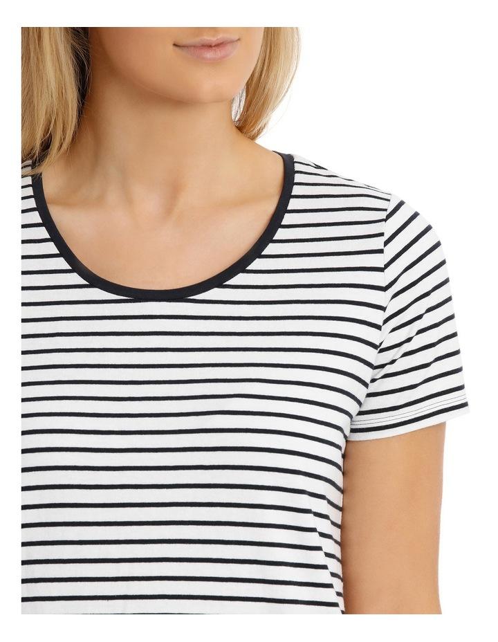 Essential Cotton Stripe S/Slv Tee image 4