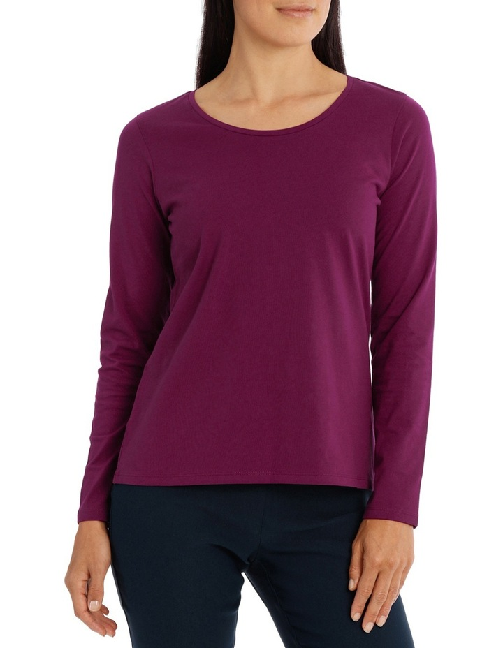 Essential Cotton Long Sleeve Tee image 1
