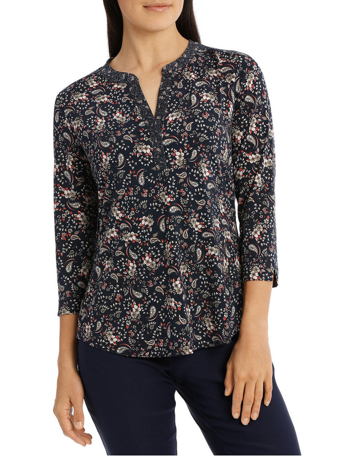 Must Have Printed Tunic Tee image 1