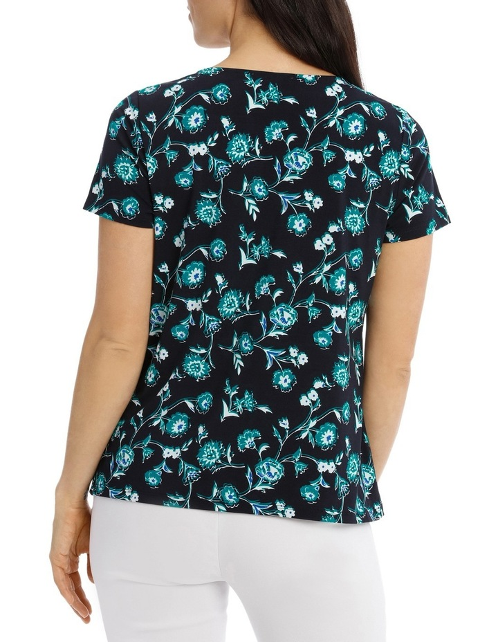Must Have Pleat Neck Tee image 3