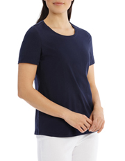 Regatta - Essential Short Sleeve Tee Solid Navy
