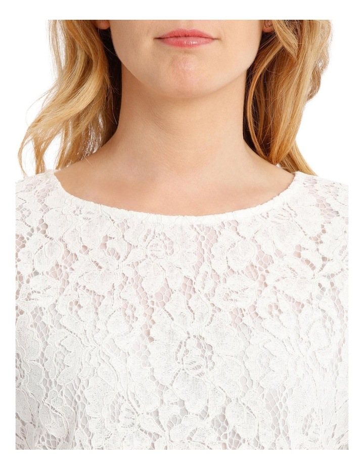 Lace Front Short Sleeve Tee image 4