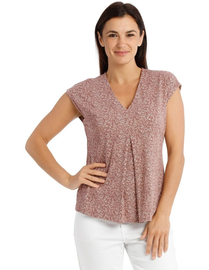 Extended Shoulder Inverted Pleat Tee image 1