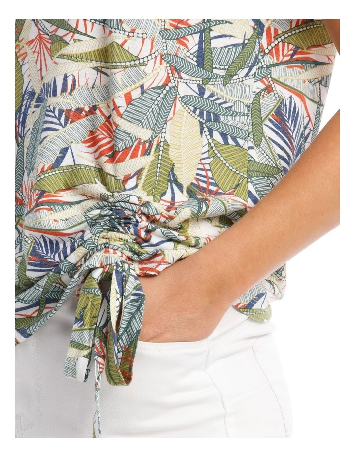 Short-Sleeve T-Shirt with Ruched Detail image 4