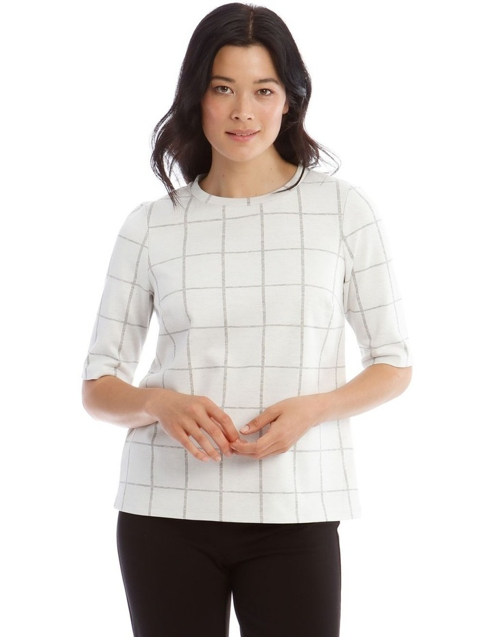 Boxy Stand Neck Tee image 1
