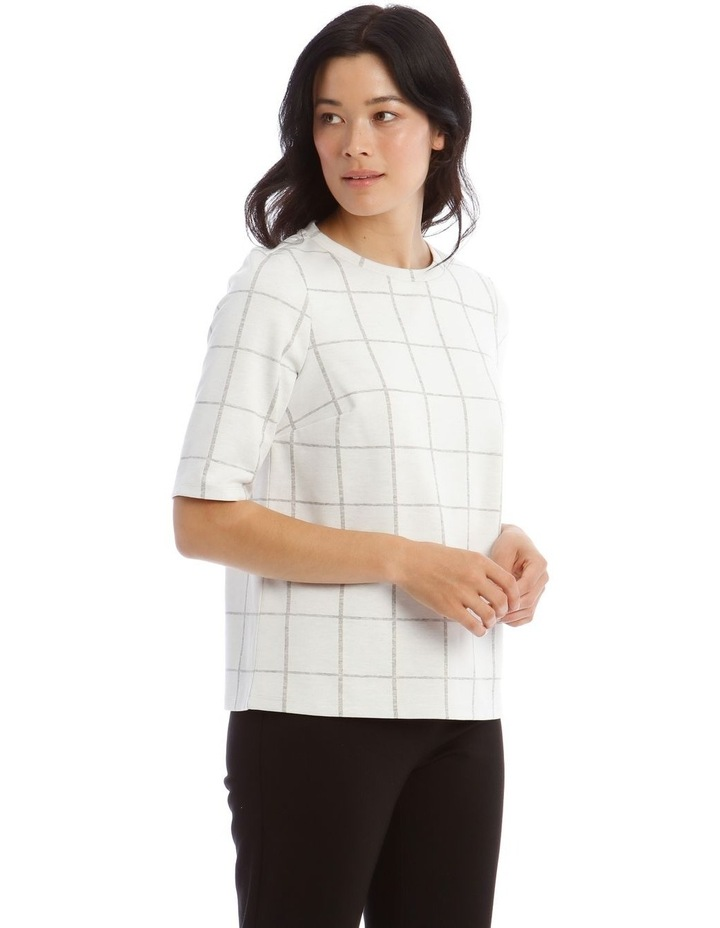Boxy Stand Neck Tee image 2