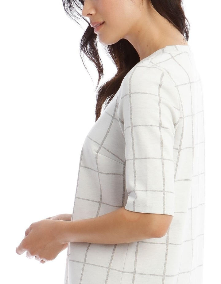Boxy Stand Neck Tee image 4