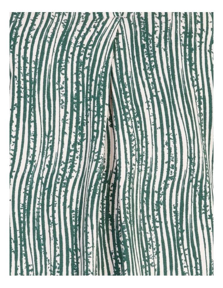 Pillar & Pine V Neck Pleat Front 3/4 Sleeve Tee image 5
