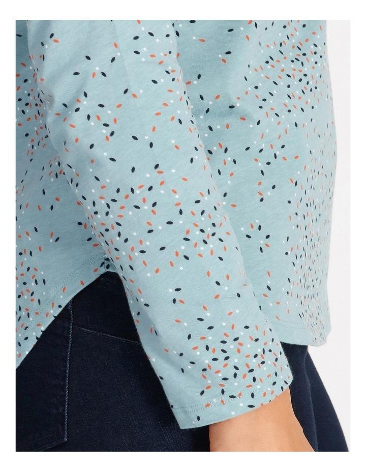 Wardrobe Staple Long Sleeve Tee Teal image 4