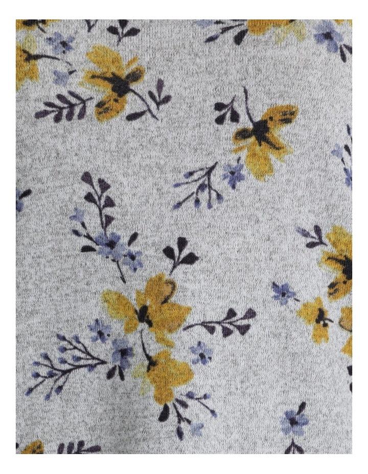 Ochre Dawn Long Sleeve Soft Touch Tee With Side Splits & Step Hem image 5