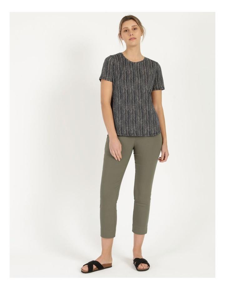 Wardrobe Staple Short Sleeve Tee Navy/Small Multi Spot image 2
