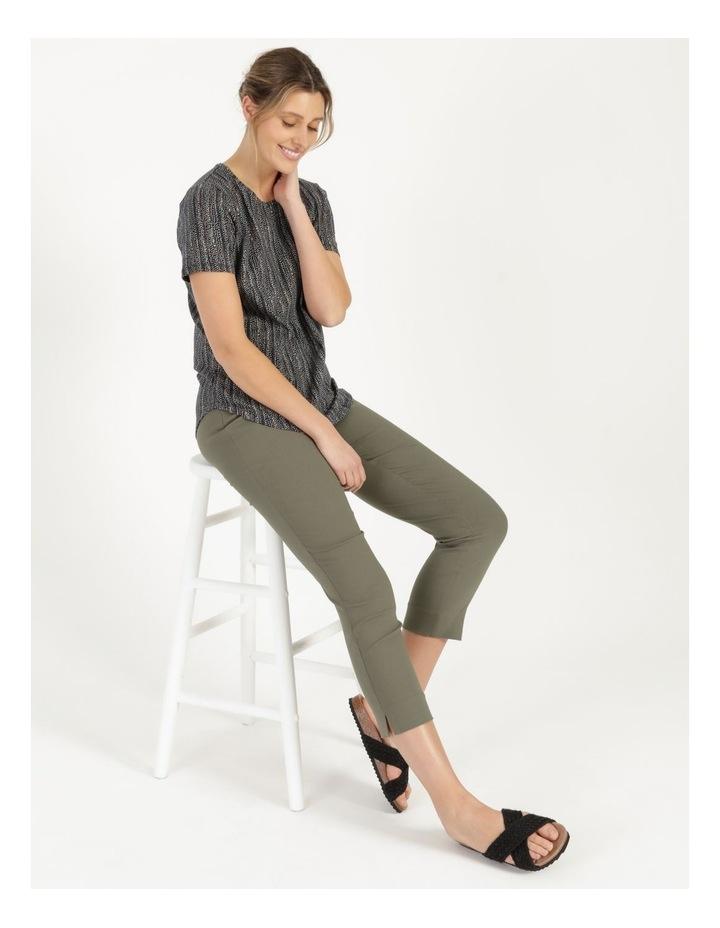 Wardrobe Staple Short Sleeve Tee Navy/Small Multi Spot image 5