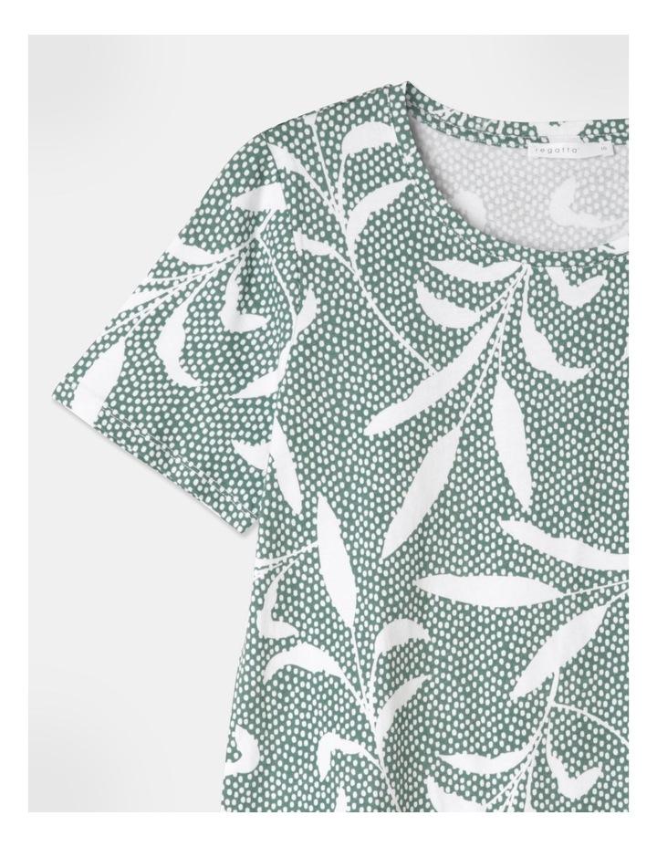 Wardrobe Staple Short Sleeve Tee Green image 1