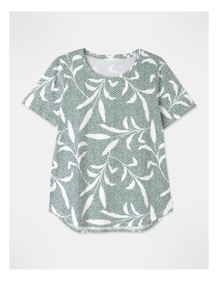 Wardrobe Staple Short Sleeve Tee Green image 2