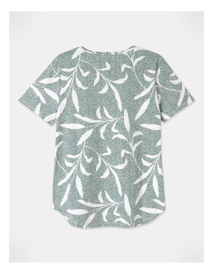 Wardrobe Staple Short Sleeve Tee Green image 3