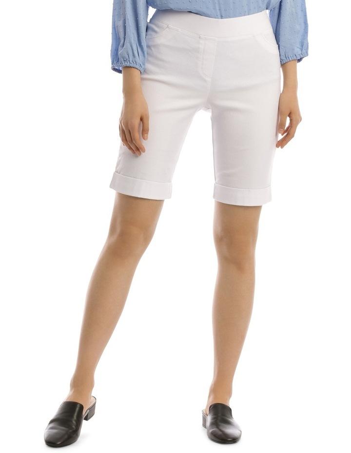 Essential Stretch Short White image 1