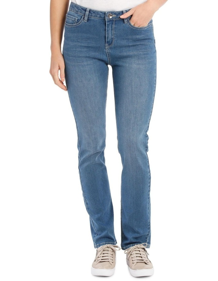 Essential Straight Leg Stretch Jeans image 2