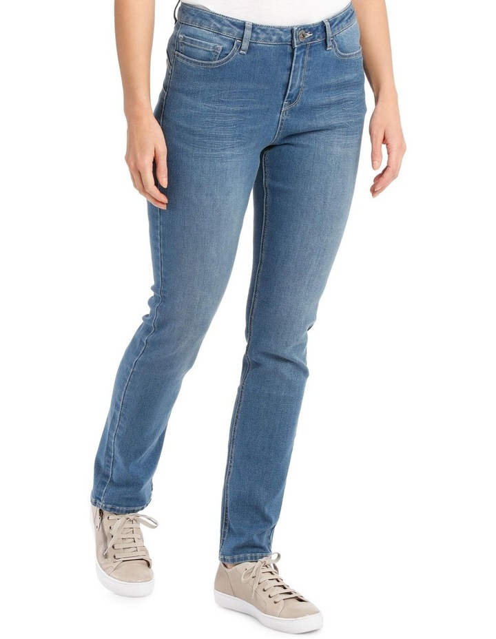 Essential Straight Leg Stretch Jeans image 3