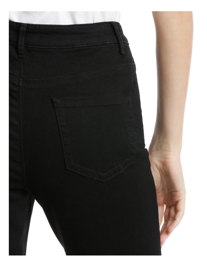 Boot Cut Stretch Jean-Black image 4