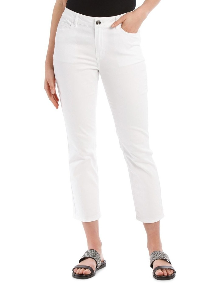 Essential Stretch Denim Crop image 1