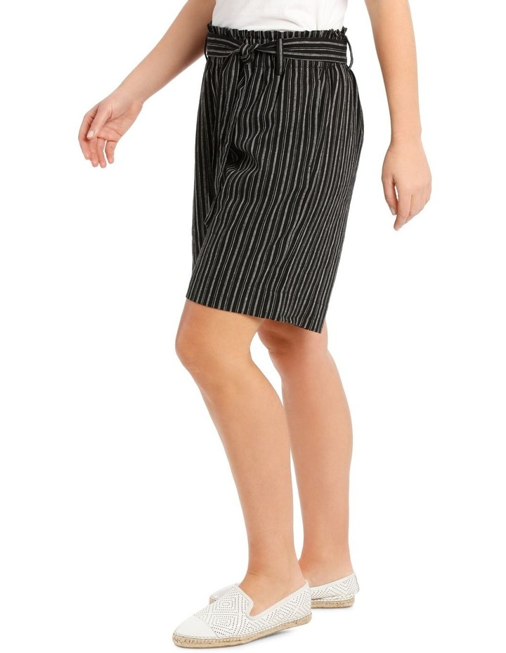 Paperbag-Tied Waist Shorts image 2