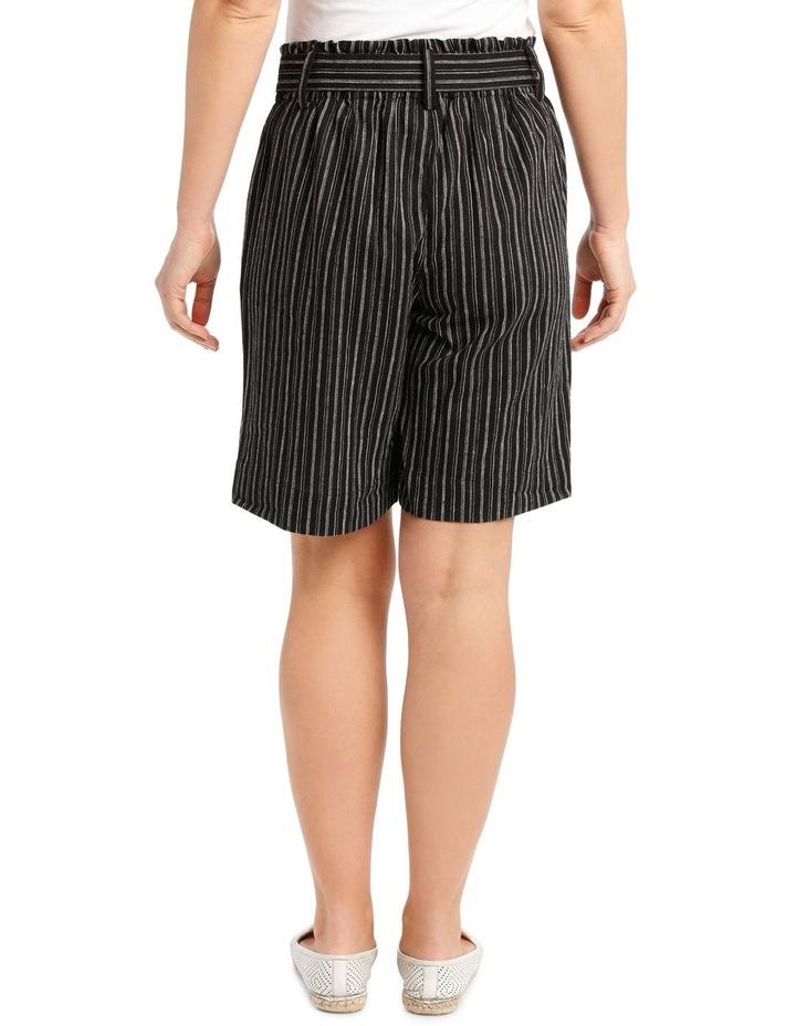 Paperbag-Tied Waist Shorts image 3