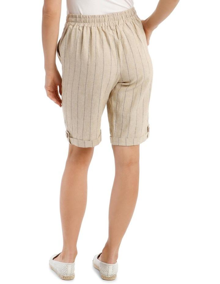 Tie-Waist Cuffed Shorts image 3