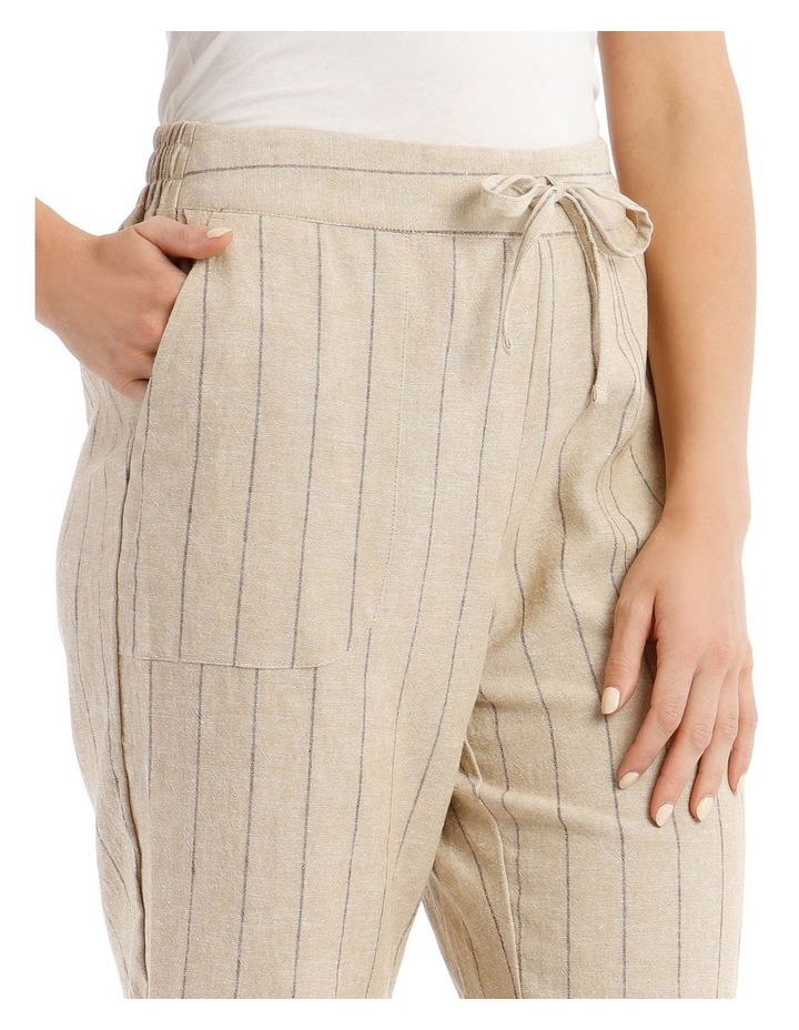 Tie-Waist Cuffed Shorts image 4