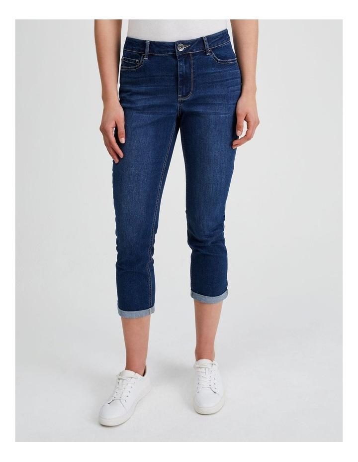 Essential Denim Crop Jean - Dark Wash image 1