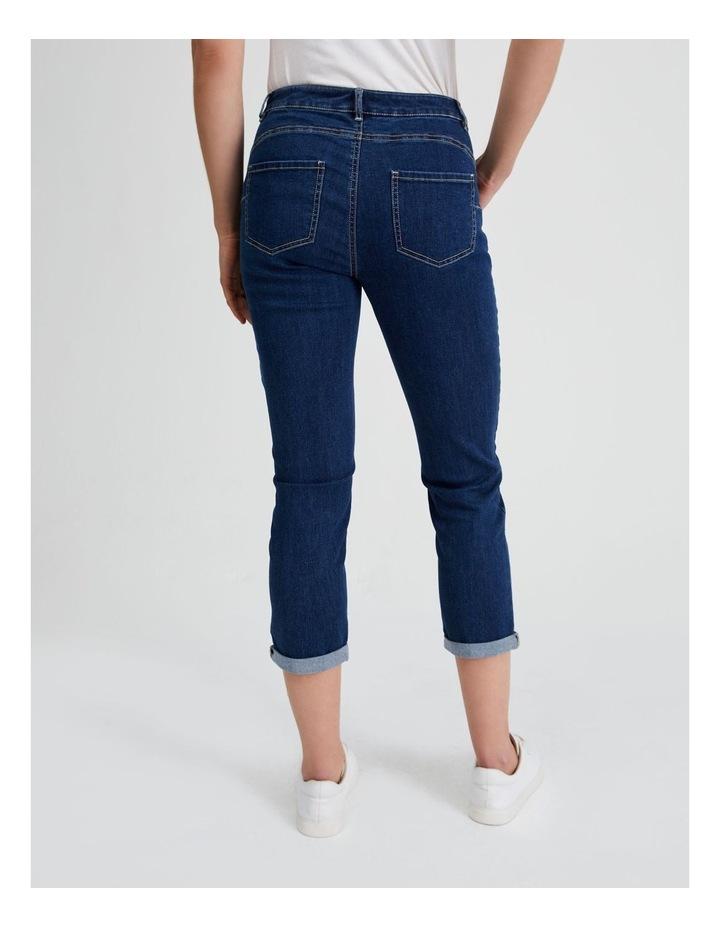 Essential Denim Crop Jean - Dark Wash image 3