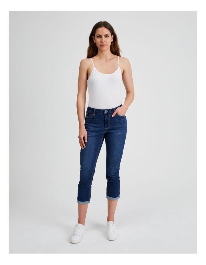 Essential Denim Crop Jean - Dark Wash image 4