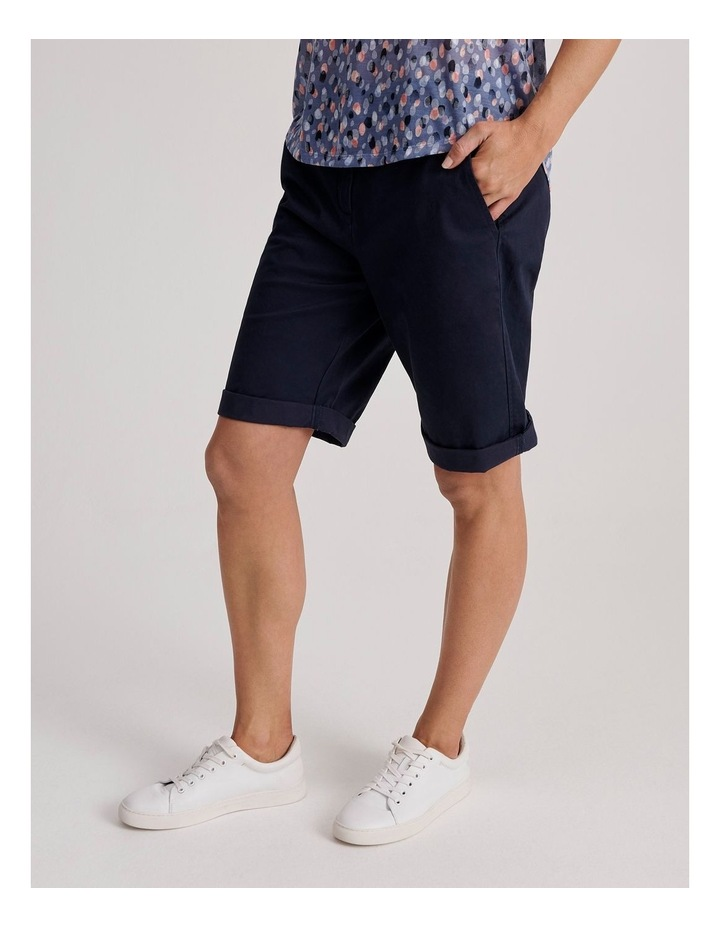 Chino Short With Rolled Cuff image 3