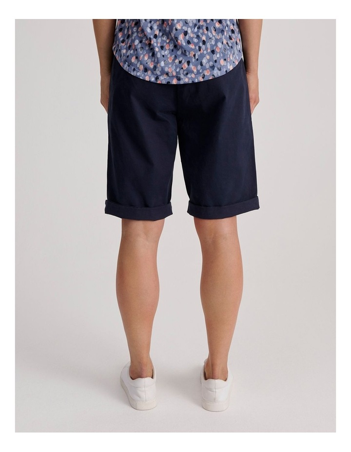 Chino Short With Rolled Cuff image 4