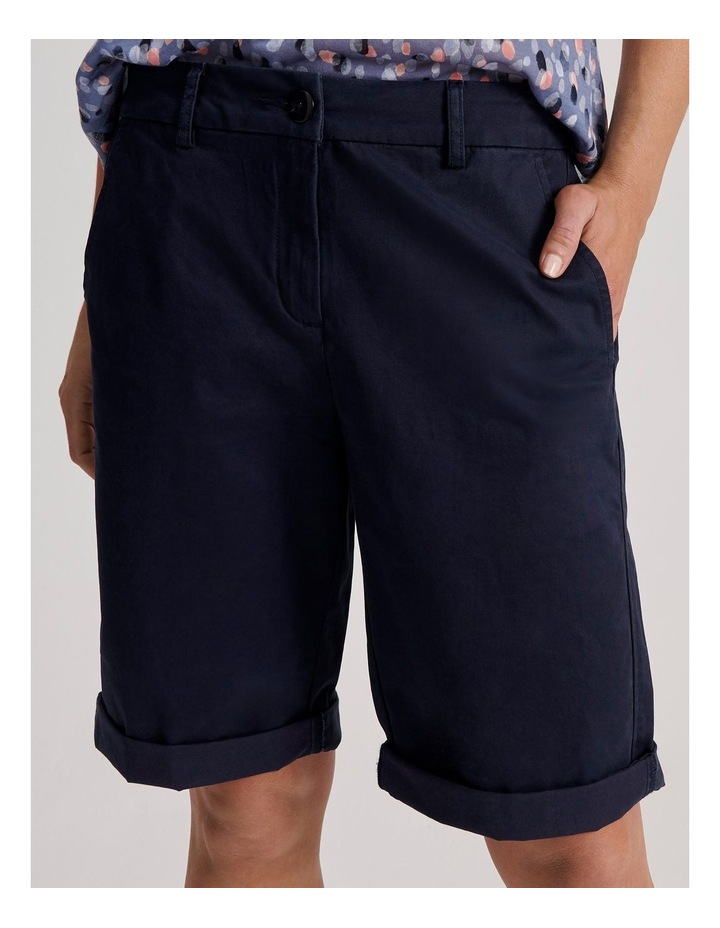 Chino Short With Rolled Cuff image 6