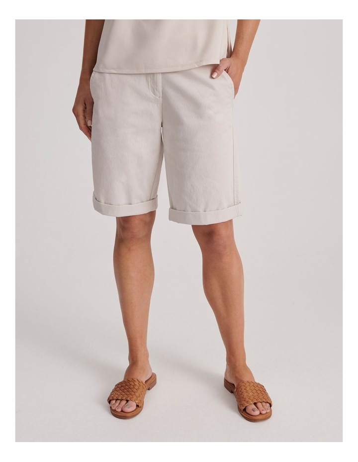 Chino Short With Rolled Cuff image 1