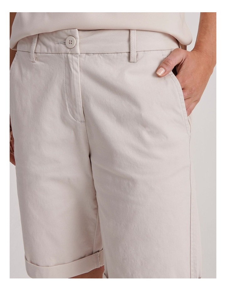 Chino Short With Rolled Cuff image 5