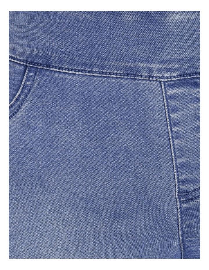 Wardrobe Staple Full Length Denim Jegging in Clear Blue image 5