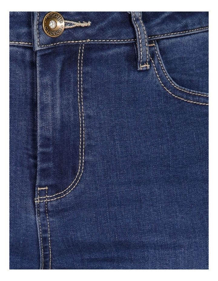 Wardrobe Staple Bootcut Full Length Jean in Indigo image 5