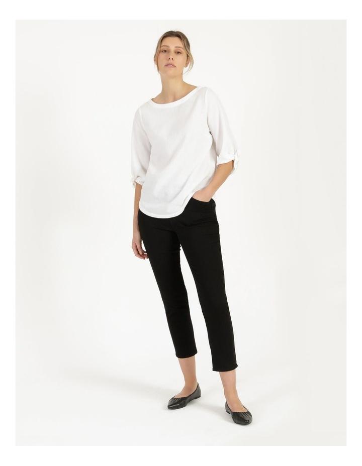 Wardrobe Staple Denim Crop Jean Black image 1