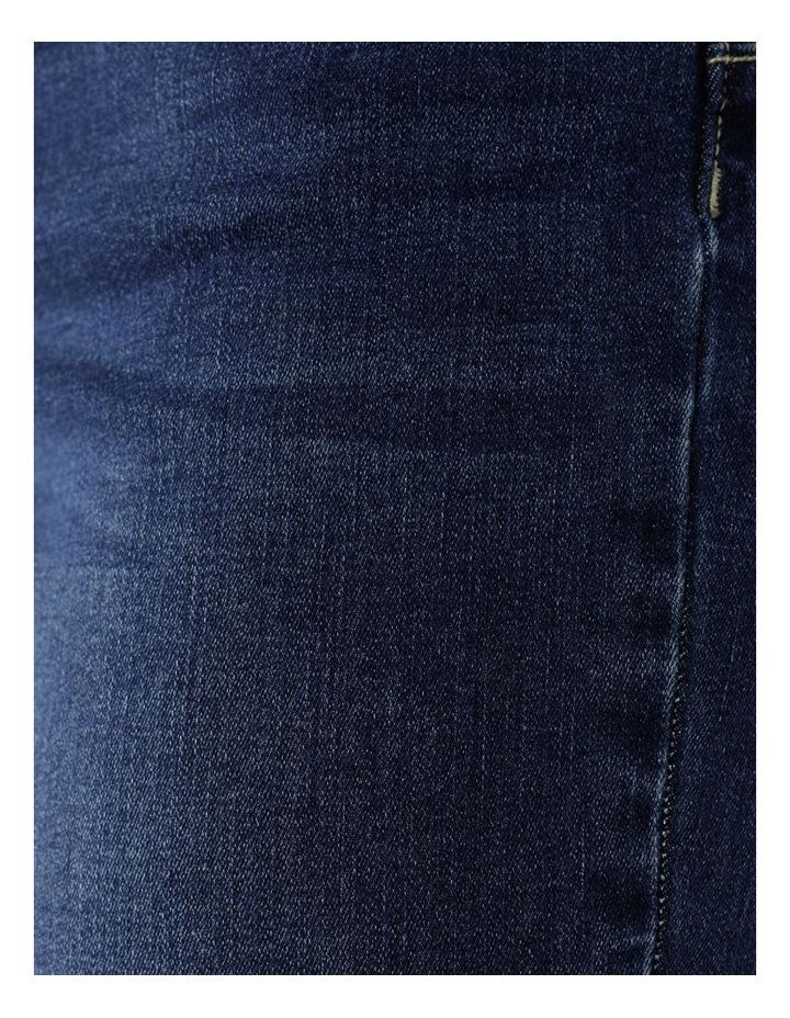 5 Pocket Denim Short Dark Wash image 7