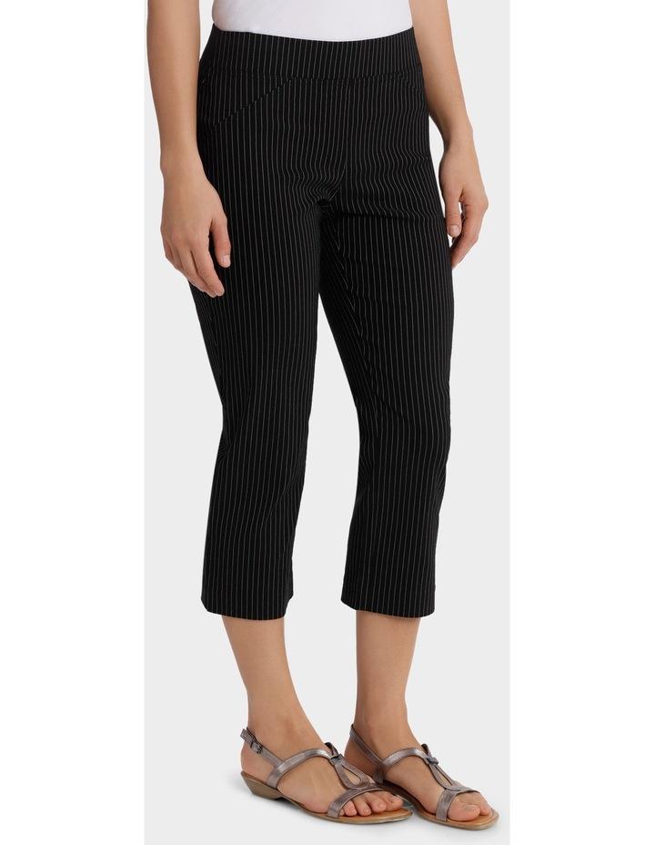 Essential Stretch Stripe Crop Pant image 2