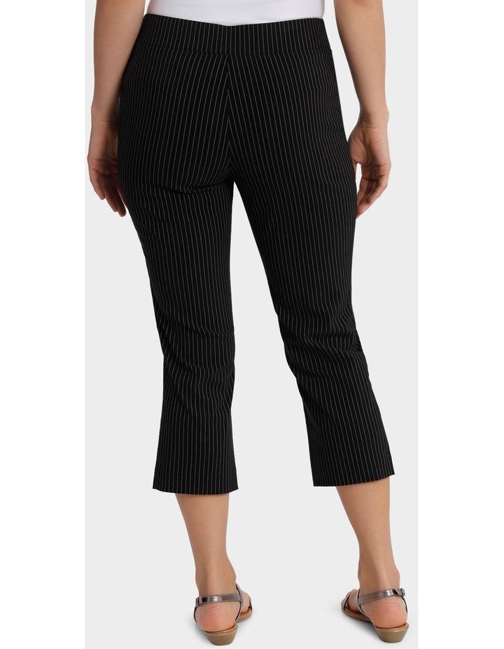 Essential Stretch Stripe Crop Pant image 3