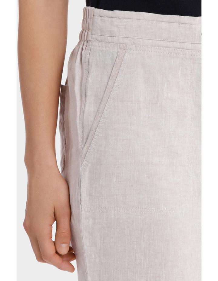 Essential Linen Crop Pant image 4